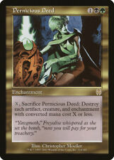 MTG X1: Pernicious Deed, Apocalypse, R, Light Play - FREE US SHIPPING!