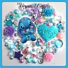 Disney Lilo And Stitch Theme Cabochon Gems & pearls Flatbacks For deco crafts #2