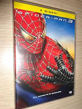 DVD SPIDER-MAN 3 E´ IL MOMENTO DI SCEGLIERE COME NUOVO 2 DISCHI COLUMBIA TRISTAR