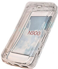 Silikon TPU Cover Case Hülle Transparent für Nokia N900 + Displayschutzfolie