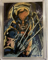 2020 Marvel Masterpieces WOLVERINE Art Sketch 1/1 By Dominic Pacho