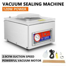 More details for commercial vacuum packing sealing machine vac packer food sealer dz-260c 120w