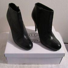 8b768cf8bcc NIB Steve Madden Armen Womens Heeled Booties Boots 9 Black MSRP 90