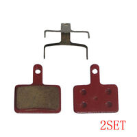 4x Deore Resin Brake Pads For Shimano M395 M446 M486 M485 M475 M525 M575 DH XC