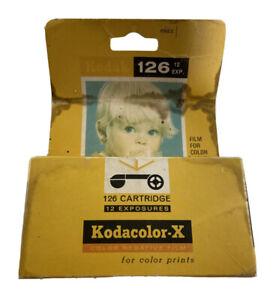 Vintage Kodacolor X Film 126 Color Camera Film