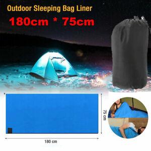 LightDry Hüttenschlafsack aus Mikrofaser Deckenschlafsack Inlett ReiseSchlafsack