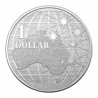 Australia 2021 Beneath Southern Skies/Platypus 1oz Silver Investment $1 Coin UNC