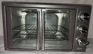 Oster French door countertop oven with turbo heat. Tssttvfdxl-ch. Tested: works.