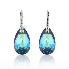 Sterling Silver Teardrop Earrings Hooks made with 6106 22mm Swarovski® Crystals