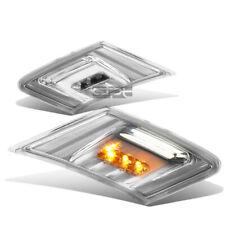 Fit 13-16 Scion Fr-S Gt86/Subaru Brz Pair Chrome Housing Led Side Marker Light