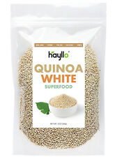 Hayllo Superfood Peru White Royal Quinoa In Resealable Bag, 8 Ounces/Half Pound