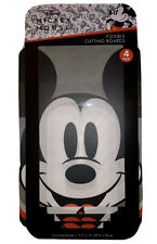 """Disney Mickey Mouse Flexible Cutting Board (4 pack) Kitchen 8""""X11"""" NEW NWT"""