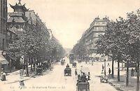 CPA 75 PARIS Xe LE BOULEVARD VOLTAIRE