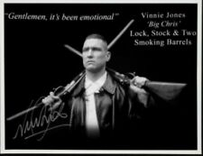VINNIE JONES SIGNED LOCK STOCK & 2 Smoking Barrels 16x12 PHOTO.  2/12/19 £39.99
