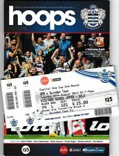 Away Team League Cup Football Programmes with Match Ticket