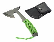 Ax Spike Hatchet Survival Outdoors Black Neon Green Zombie Killer Rope Axe Slay