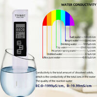 Mini 3-in-1 Digital LCD TDS EC Temperature Meter Water Tester Pen Purity Filter