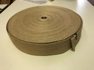 "1 meter length 50mm (2"") HEMP WEBBING"