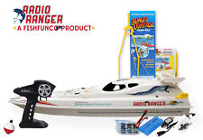 "Radio Ranger lll"" 34"" Remote Control Fishing Boat UPGRADED 2.4Ghz Remote System"