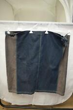 "Ladies Go 2 Toned Denim Skirt With Adjustable Side Fastens Waist 78"" SH80"