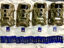 (4 Pack) Terra 14 Extreme BLACKOUTS w/ SD and Batteries Wildgame Trail Cameras