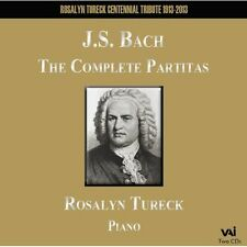 Rosalyn Tureck, J.S. - Complete Partitas BWV 825-830 [New CD]