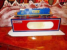 NIB Willams By Bachmann GP-38 Diesel Locomotive CSX Dark Future  # 2814