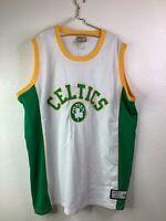 BOSTON CELTICS MAJESTIC HARDWOOD CLASSICS NBA JERSEY SIZE 3XL