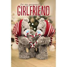 Girlfriend - Me to You 3d Holographic Adorable Christmas Greeting Card