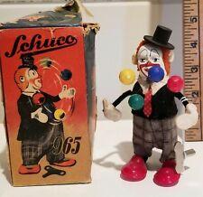 Schuco Wind-up Clown with
