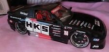 Jada  Nissan 240 SX 1/24 scale  HKS Graphics  extremely rare , used no box