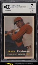 1957 Topps Frank Robinson ROOKIE RC BCCG 7 NRMT (PWCC)