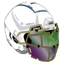 New Schutt Splash Shield For Football Helmet (Upper & Lower Set Of 3)