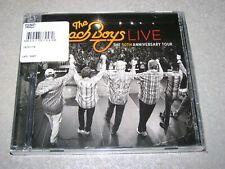 "THE BEACH BOYS LIVE ""THE 50TH ANNIV TOUR"" U.S. 2 CD SET SEALED"