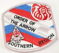 Vintage WWW Order Arrow OA Southern Region Boy Scout America BSA Twill Patch