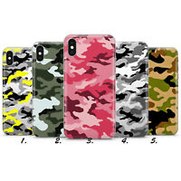 CAMOUFLAGE ARMY PATTERN CAMO NEW PHONE CASE COVER IPHONE 5 6 7 8 X XS MAX 6e45c0982f2b6