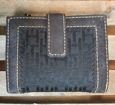 Tommy Hilfiger Women's Black Logo Bifold Wallet
