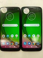 Lot of 2 Motorola Moto G7 Play Xt1952-5 At&T Check Imei Fair Condition Ip-482