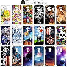 Custodia cover RIGIDA per Huawei Honor 6c Pro -  Design _1080_1097