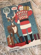 Trader Joe's 24 Chocolate Advent Calendar SANTA & REINDEER Christmas 2019 NEW