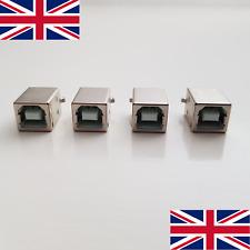 USB Type B Straight Socket Connector Port 4 Pin (UK Stock)