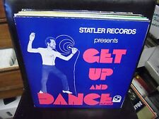 Statler Records Get Up and Dance vinyl LP VG+ [soul funk SUPER DISCO]