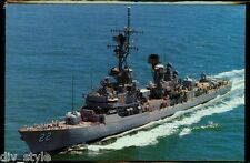 USS Benjamin Stoddert DDG-22 postcard  US Navy ship guided missile destroyer cd2