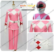 Power Red Ranger Cosplay Costume Pink Rangers Any Size