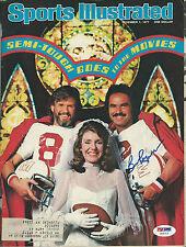 Burt Reynolds Signed 1977 Semi-Tough Sports Illustrated Magazine PSA/DNA COA