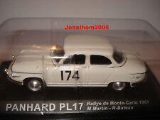 PANHARD PL17 RALLYE DE MONTE CARLO 1961 au 1/43°