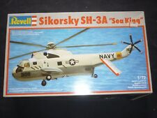A Revell un made plastic kit of a Sikorsky SH-3A Sea king.  boxed
