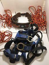 Buckingham Ring Lineman Pole Climbing Body Belt Size 32 Usa Falltech Harness