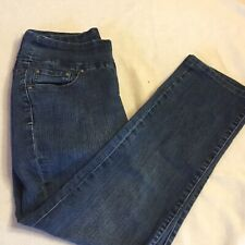 JAG Jeans Women Sz 8 Stretch Dark Wash Denim Jeans Pants Pull On