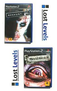 Ps2 - Manhunt - Choose Title - Same Day Dispatched - Boxed - *Multi Listing*